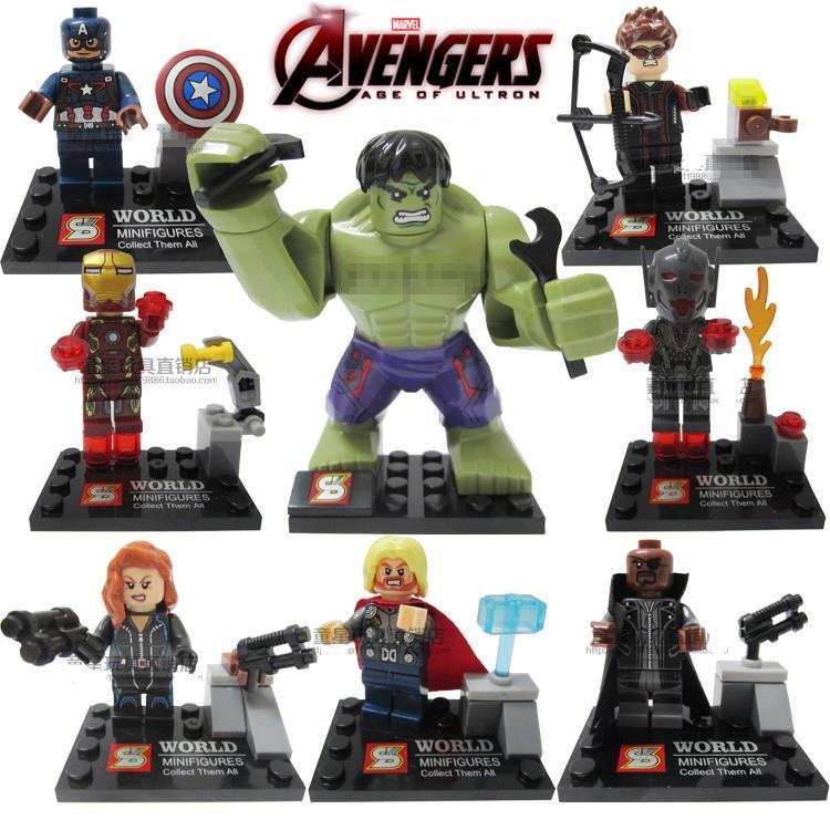 NEW LEGO BAD GUY LOKI THOR MINIFIG AVENGERS MARVEL FIGURE MINIFIGURE HERO