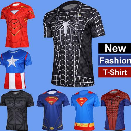 Marvel Heroes Comics T-Shirt Homme