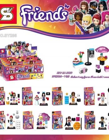 6PCS Girls Avengers Chariot Mini Figures Building Blocks Kids Toy Girl/'s Gifts