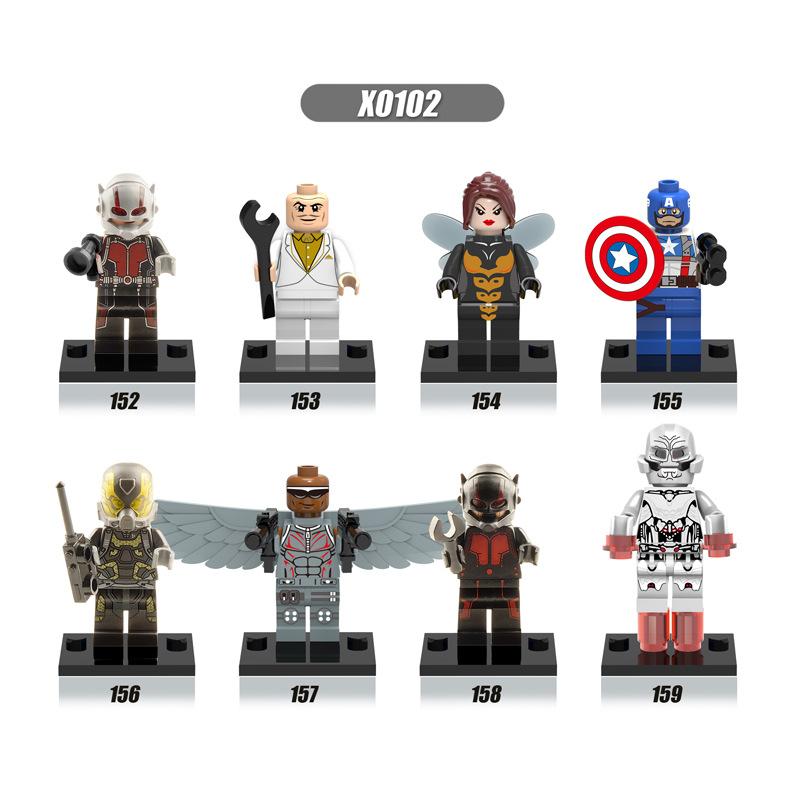 Ant-Man Super Hero Fit Lego Minifigure Toys