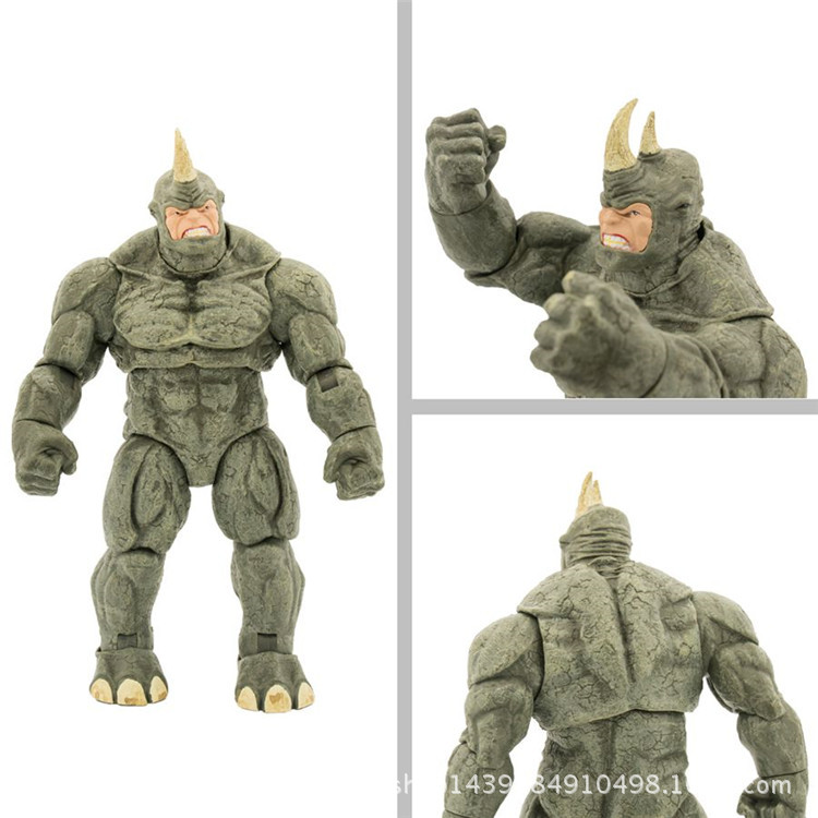 9/'/' Marvel Select Spider-man Villain The Rhino Collector Edition Figure Gifts
