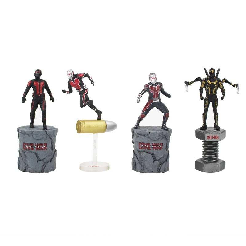 Avengers the Ant Man 2 Civil War Collectible Toy Model PVC Action Figure Toys
